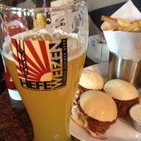 Photo taken at Gordon Biersch Brewery Restaurant by Heather C. on 5/5/2013