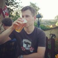 Photo taken at Restaurace Petřín by Benedek T. on 7/19/2014