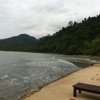 Photo taken at Bailan Beach by mullampanri on 9/30/2013