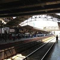 Photo taken at Dadar Railway Station by Raj S. on 3/16/2013