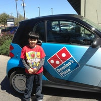 Photo taken at Domino's Pizza by Joseph D. on 3/12/2013