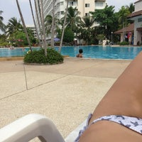 Photo taken at Jomtien View Talay  Condominiums Pattaya by Julia N. on 3/26/2013