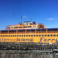 Photo taken at Staten Island Ferry Boat - Guy V. Molinari by Marc-Andre N. on 3/4/2013