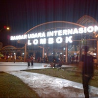 Photo taken at Lombok International Airport (LOP) by Agus W. on 3/4/2013