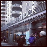 Photo taken at Shake Shack by Yuta T. on 1/2/2013