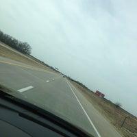 Photo taken at Interstate 35 by Halee M. on 3/14/2013