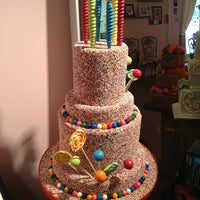 Photo taken at Frosted Art Bakery & Studio by Lauren O. on 3/22/2013