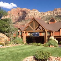 Photo taken at Best Western Zion Park Inn by Daoie M. on 8/22/2014