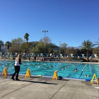 Photo taken at Palm Desert Aquatic Center by Brian M. on 12/31/2015