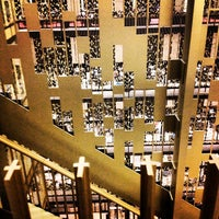 Photo taken at NYU Bobst Library by Greg C. on 3/26/2013