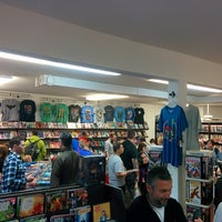 Photo taken at Comics Dungeon by Jason D. on 5/3/2014