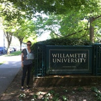 Photo taken at Willamette University by Tinna H. on 5/8/2013