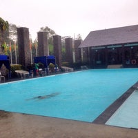 Photo taken at Mesra Hotel Swimming Pool by abimanyu . on 12/21/2014