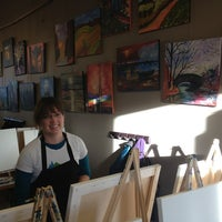 Photo taken at Sipping N' Painting by Danna C. on 3/3/2013