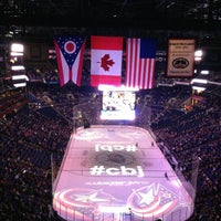 Photo taken at Nationwide Arena by Johanna J. on 3/16/2013