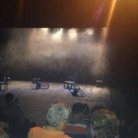 Photo taken at Teatro La Aduana by Laura Z. on 4/9/2014