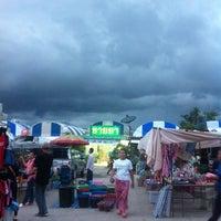 Photo taken at Yaek Krungthep Kritha Market by KA W. on 10/7/2013