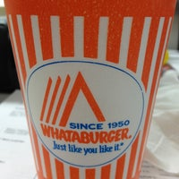 Photo taken at Whataburger by Judy F. on 4/1/2013