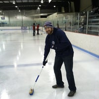 Photo taken at Metro Ice Facility by Drew V. on 3/2/2013