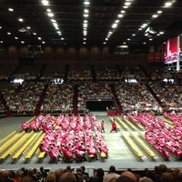 Photo taken at John D Millett Hall by Colleen D. on 5/12/2013