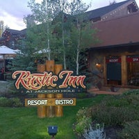 Photo taken at Rustic Inn at Jackson Hole by Rene J. on 9/17/2014