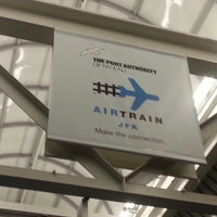 Photo taken at JFK AirTrain - Federal Circle Station by Junseong p. on 3/22/2013