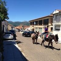 Photo taken at Miranda del Castañar by Eva on 8/10/2013