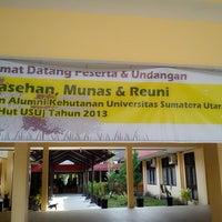 Photo taken at Ruang Nazir Alwi FKG USU by Steffi S. on 5/25/2013