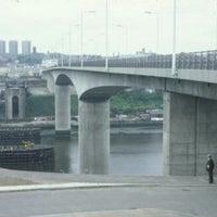 Photo taken at Redheugh Bridge by Мая А. on 4/20/2014