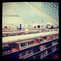 Photo taken at Seattle Central Library by Nindyo S. on 5/1/2013