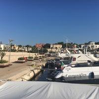 Photo taken at Porto di Leuca by Ferhatti⚓️ on 8/29/2016