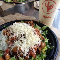 Photo taken at Qdoba Mexican Grill by Jennifer K. on 1/27/2013