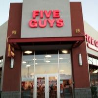 Photo taken at Five Guys by Angel O. on 8/30/2013