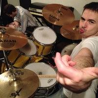 Photo taken at The Sweatshop Rehearsal & Recording Studios by Noah K. on 4/6/2013