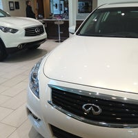 Photo taken at Park Avenue Infiniti by Janet K. on 4/5/2013