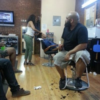 Photo taken at Nelson's Barbershop by Lori L. on 7/19/2013