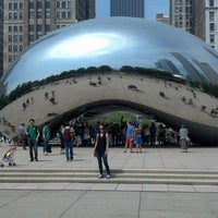 Photo taken at Millennium Park by Mark L. on 5/19/2013