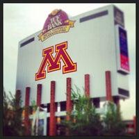 Photo taken at TCF Bank Stadium by Emma M. on 6/11/2013