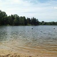 Photo taken at Bābelītes ezers by Svetlana B. on 7/18/2013