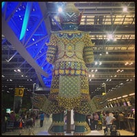 Photo taken at Suvarnabhumi Airport (BKK) by Ko P. on 11/12/2013