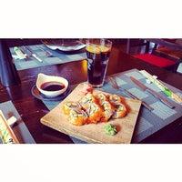 Photo taken at GINGER | ķīniešu virtuve, suši bārs by Eliza M. on 2/15/2014
