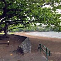 Photo taken at Hana Beach Park by Brian D. on 3/12/2015