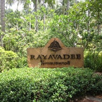 Photo taken at Rayavadee by Tan B. on 5/20/2013