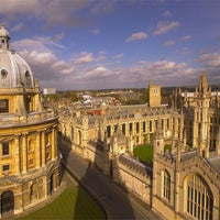 Photo taken at Radcliffe Camera by Adam E. on 10/14/2012