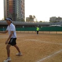 Photo taken at 반포종합운동장 테니스코트 by Jon S. on 10/6/2012