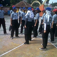Photo taken at SMPN 43 Bandung by Andre Maulana A. on 5/9/2013