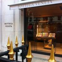 Photo taken at Bottega Veneta by Renaud F. on 11/6/2014