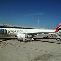 Photo taken at Gate E70 - Aeroport T1 by Adeeb A. on 3/31/2013