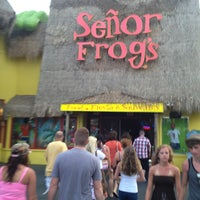 Photo taken at Señor Frog's by Jobina 🍹 N. on 6/9/2013
