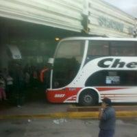 Photo taken at Terminal de Omnibus Pergamino by Mar 🐑 B. on 4/2/2013